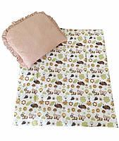 Набор в коляску Twins (одеяло и подушка)