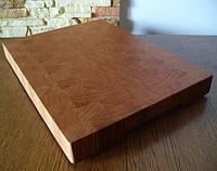 Кухонная торцевая разделочная доска 30х15х2,5 см. из ясеня C30х15