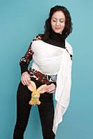 Слинг с кольцами без бортов Fabric (молочный)