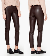 Женские  штаны из кожзама Mango XS р34, фото 1