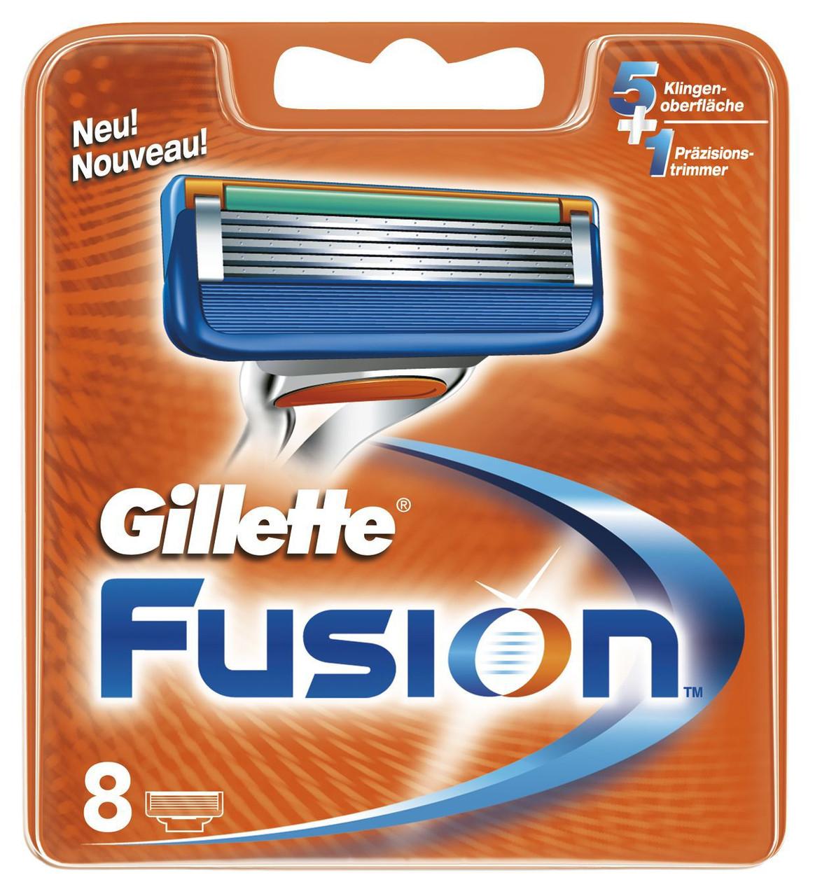 Картриджи Gillette Fusion 8's лезвия Китай