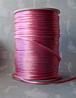 Шнур атласный Розовый