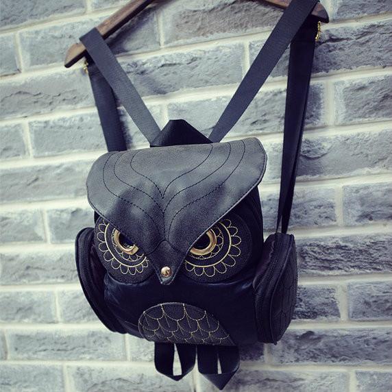 Детский рюкзак в виде совы