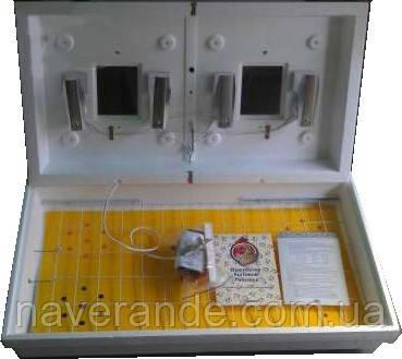 Инкубатор бытовой ламповый Рябушка-2 на 130 яиц (электронный терморегулятор)