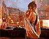 Набор-раскраска по номерам Объятия ночного города худ. Марк Спейн