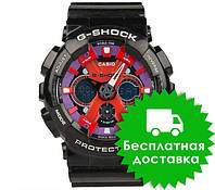 Часы Casio G-Shock GA-120 Black Red