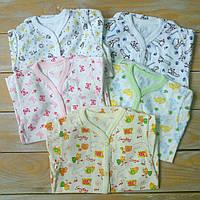 Бодики детские для новорожденных, 56-74см