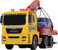 Автомобиль «Эвакуатор» с воздушной помпой 55см и машинка Dickie 380 9001