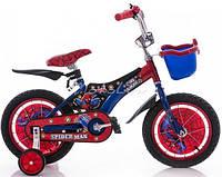 """Детский двухколесный велосипед Mustang Pilot Spider Man (12""""-дюймов)***"""