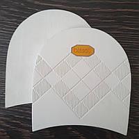 Набойки формованные BISSELL арт. RB-613 цвет белый (желтый логотип)
