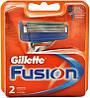 Картриджи Gillette Fusion (два картриджа в упаковке)