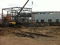Монтаж металлоконструкций промышленных зданий