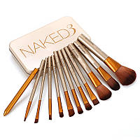 Набор кистей для макияжа Naked3 из 12 кистей