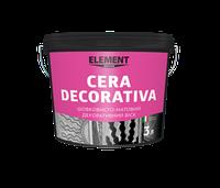 Cera decorativa - Декоративний матовий віск, що тонується.