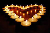 Сколько горит чайная свеча? Интересные идеи ко дню влюбленных.