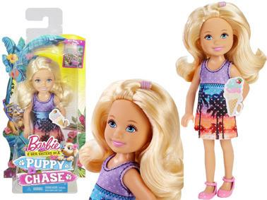 Кукла Челси на тропе щенков / Barbie Chelsea Puppy Chase DMD96