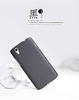 Чехол-бампер и плёнка NILLKIN для телефона Lenovo Vibe X S960 черный