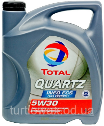 Масло моторное TOTAL QUARTZ Ineo ECS 5W-30, 4л