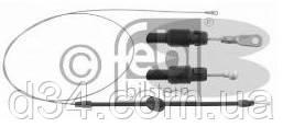 Трос ручного передний 2543мм 30-35 Volkswagen Сrafter 2006- / Sprinter 06- FEBI - d34-запчасти-Trafic/Master/Kangoo/Caddy/T4/T5/Sprinter/Vito/Transit/Boxer/Berlingo/Doblo/Jumpy/Nemo в Ирпене