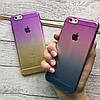 Силиконовый чехол омбре на iPhone 6/6s, фото 4