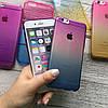 Силиконовый чехол омбре на iPhone 6/6s, фото 5