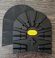 Набойки формованные BISSELL арт. RB-618S цвет черный (желтый логотип)