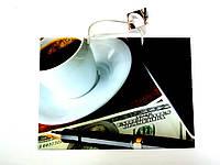 Пакет подарочный 35х26х11см Большой горизонтальный Чашка кофе