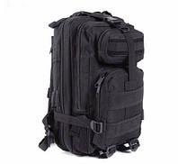 Рюкзак тактический штурмовой 26L нейлоновый черный, фото 1