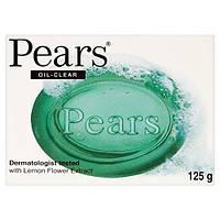 Pears Transparent Lemon Extract Oil Clear Soap / Груши Прозрачный экстракт лимона Масло Очистить 125g  (Индия)