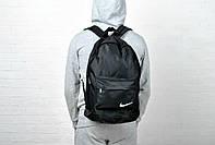 Рюкзак спортивный  черный из водоотталкивающей ткани