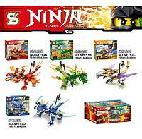 Конструктор Ninjago SY753 (аналог Lego), NJ, 114-125 деталей