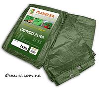 Тент упрочненный Green 90 гр/м2 6м х 10м