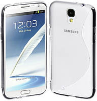 Чехол бампер TPU для Samsung Galaxy S4 I9500 дымчатый