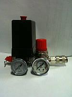 Пресостат на компрессор в сборе 380 В (автоматика/реле давления)