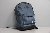 Рюкзак спортивный  серый из водоотталкивающей ткани