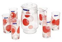 Набор для напитков Constellation Red Luminarc 8277