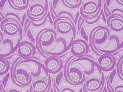 Стрейч-гипюр CHRISANNE (Англия) ярко-сиреневый (galactic lilac dream)