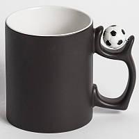 Чашка для сублимации хамелеон с футбольным мячиком