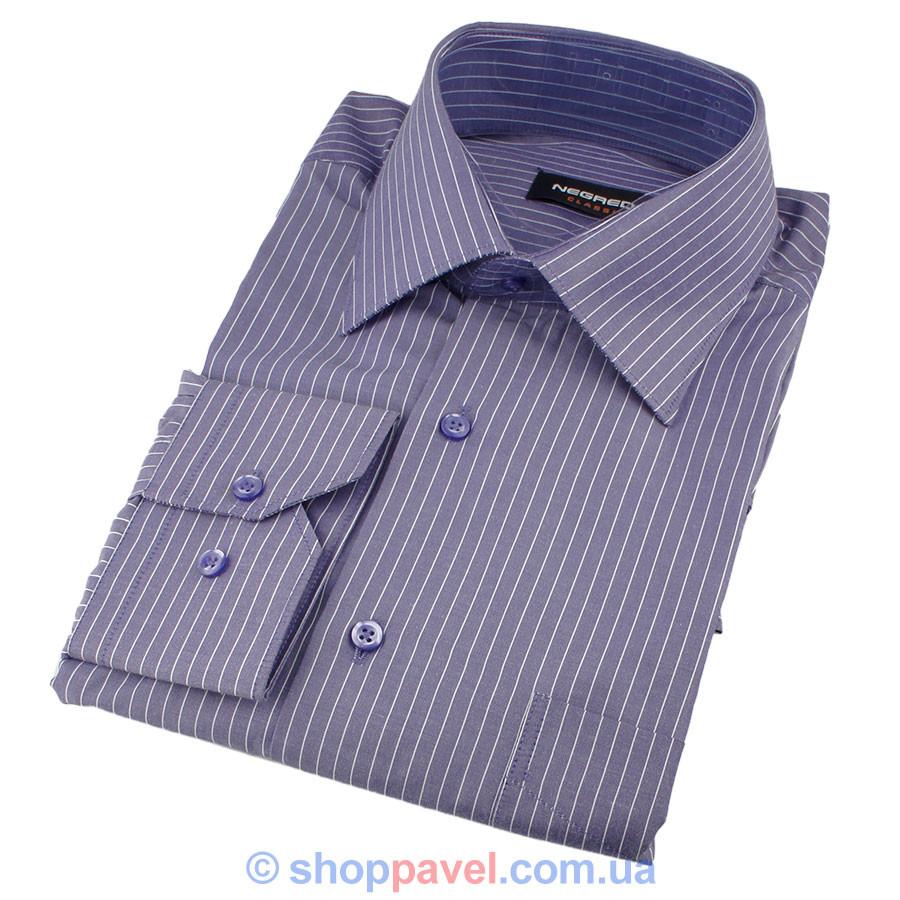 Мужские рубашки в темных тонах размер М 0200С