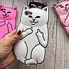 Чехол кот с факами  на iphone 8 силиконовый  , фото 2