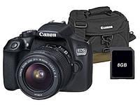 Фотоаппарат / фотоапарат CANON EOS 1300D 18-55mm +Сумка +Kарта 8 Гб