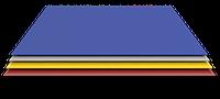 Полимерный плоский(гладкий) лист. RAl 9003,6005,8017,3005