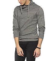 Мужской  свитер LC Waikiki серого цвета с воротником-хомут