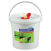 Влажные салфетки для чистки и дезинфекции вымени, упаковка 800 шт.