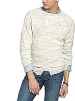 Мужской  свитер LC Waikiki белого меланжевого цвета, фото 1