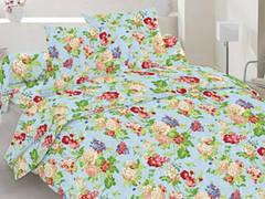 Комплект постельного белья полуторный бязь  - 20-0083 Blue