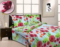 Комплект постельного белья полуторный бязь  - 3928/2 Цветущий луг