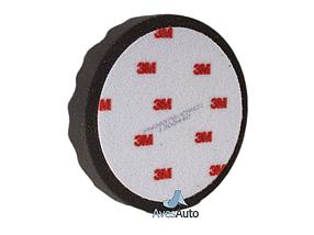 Полировальный круг рифленый мягкий - 3M Perfect it™ III Hookit™ 150 мм. черный (09378), фото 3