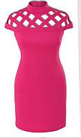 Платье № 3272S малиновый