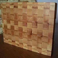 Кухонная торцевая разделочная доска 30х20х2,5 см из ясеня С30x20